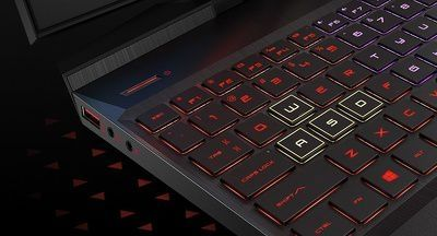 "Laptop Gaming HP OMEN cu procesor Intel® Core™ i7-9750H pana la 4.50 GHz, 17.3"", Full HD, IPS, 144Hz, 16GB, 1TB HDD + 256GB SSD, NVIDIA® GeForce RTX™ 2070 8GB, Free DOS, Black"