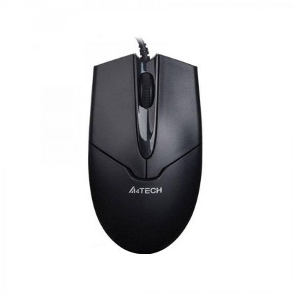 MOUSE A4TECH V-TRACK PADLESS USB BLACK