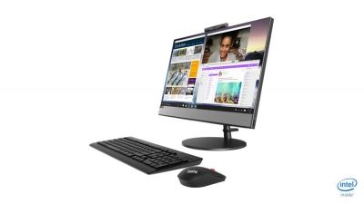 "Sistem PC All-in-One Lenovo V530-22ICB cu procesor Intel® Core™ i3-8100T 3.10 GHz, Coffee Lake, 21.5"", Full HD, 4GB DDR4, 1TB, Intel® UHD Graphics 630, Free DOS, White"