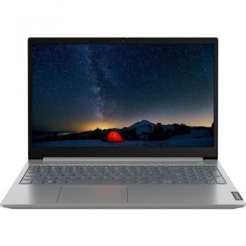 Laptop Lenovo ThinkBook 15 G2 ARE, AMD Ryzen 3 4300U(4 cores, 2.7GHz to 3.7 GHz), 15.6'' FHD IPS AG 250N, 8GB DDR4 3200MHz, 256GB SSD M2 2242 NVME TLC, Integrated Graphics, DOS