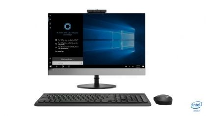 "Desktop Lenovo All in One V530-24ICB AIO, 23.8"" FHD (1920x1080)  WVA Anti-glare; non-Touch, INTEL Core i3-9100T (4C / 4T, 3.1 / 3.7GHz, 6MB), 1x 8GB DIMM DDR4-2666, 256GB SSD 2.5"" SATA6Gb/s Opal, Integrated Intel UHD Graphics 630, 9.0mm DVD±RW, Media Read"