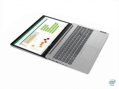 "Laptop Lenovo ThinkBook 15 - IIL, Intel Core (10th Gen) I5-1035G, 15.6"" FHD, RAM 16GB, SSD 512G, Integrated Intel UHD Graphics, Culoare: Mineral Grey, DOS"