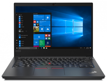 "Laptop Lenovo Thinkpad E14 Gen 2-ITU T, Intel Core i5-1135G7 Processor (12M Cache, 2.40 GHz up to 4.20 GHz, with IPU), 14"" FHD, 8 GB SO-DIMM DDR4-2666, 256 GB SSD M.2 2242 PCIe NVMe, Intel UHD Graphics, + Windows 10Pro licenta electronica"