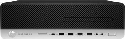 HP ProDesk 400 G6 9-gen Intel Core i5 i5-9500 8 GB DDR4-SDRAM 256 GB SSD SFF PC negru Windows 10 Home
