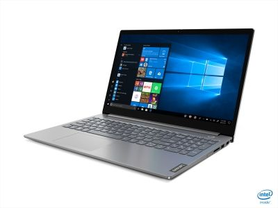 "Laptop Lenovo ThinkBook 15 - IIL, Intel Core (10th Gen) I5-1035G, 15.6"" FHD, RAM 16GB, SSD 512G, AMD RADEON 630 Graphics dedicata, Culoare: Mineral Grey, DOS"