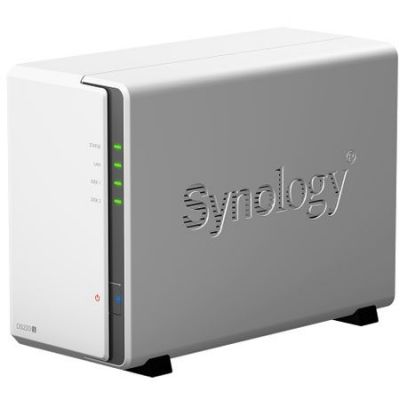 Network Attached Storage Synology DS220j, procesor 1.4 GHz, Quad Core, 512MB DDR4, 2 Bay