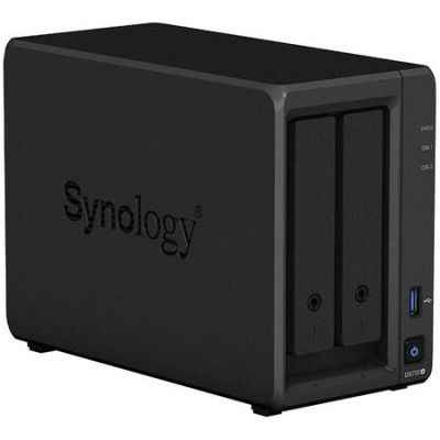 Network Attached Storage Synology DS720+, 2-Bay, Procesor Intel Celeron J4125 2GHz, 2GB DDR4