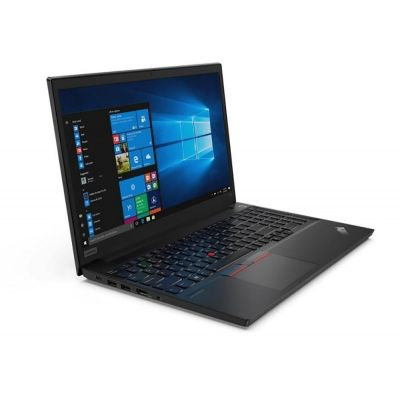 "Laptop Lenovo ThinkPad E15 Gen 2, Procesor 11th Generation Intel® Core™ i5-1135G7 up to 4.20 GHz, 15.6"" FHD (1920x1080) IPS 250nits Anti-glare, 16GB 2666MHz DDR4, 512GB SSD M.2 PCIe NVMe, NVidia MX450 2GB GDDR5, culoare Black, Windows 10 Pro"