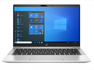 "Laptop HP ProBook 430 G8, Procesor 11th Generation Intel Core  i3-1115G4 up to 4.10GHz, 13.3"" FHD (1920x1080) IPS anti-glare, ram 8GB (2x4GB) 3200MHz DDR4, 128GB SSD M.2 PCIe NVMe, Intel® UHD Graphics, culoare Silver, Windows 10 Pro"